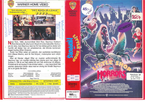 LITTLE SHOP OF HORROR (VHS)