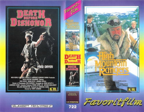 HIGH MOUNTAIN RANGERS+DEATH BEFORE DISHONOR