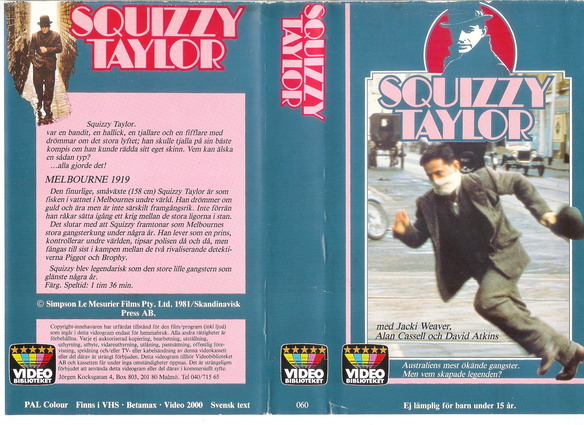 060 SQUIZZY TAYLOR (VHS)