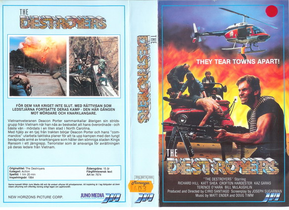 7674 DETROYERS (VHS)