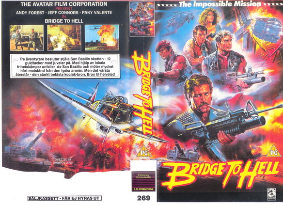 269 BRIDGE TO HELL  (VHS)