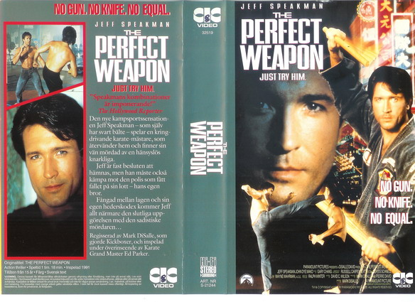 21244 PERFECT WEAPON (VHS) TITTKOPIA
