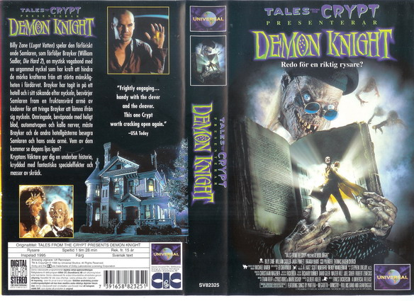 DEMON KNIGHT (vhs)