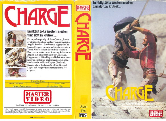 8521 CHARGE  (VHS)