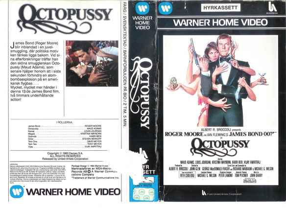 OCTOPUSSY (VHS)
