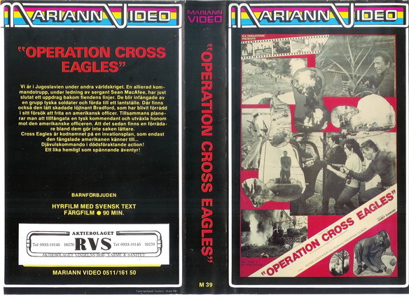 M 39 Operation Cross Eagles (VHS)