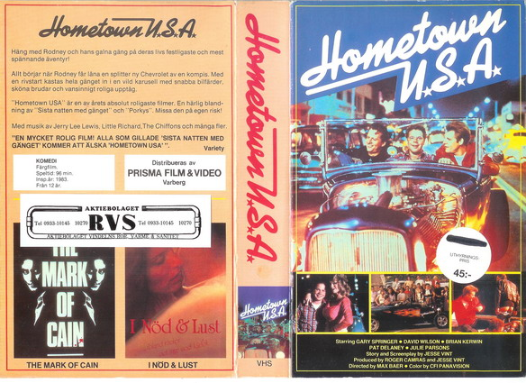 HOMETOWN USA (VHS)