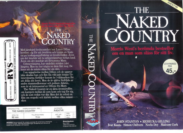 133 NAKED COUNTRY (vhs)