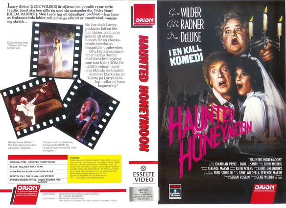 HAUNTED HONEYMOON (VHS)