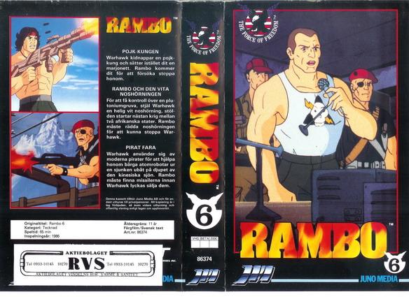 RAMBO 6, Boa video