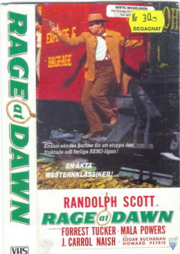 RAGE AT DAWN (VHS)