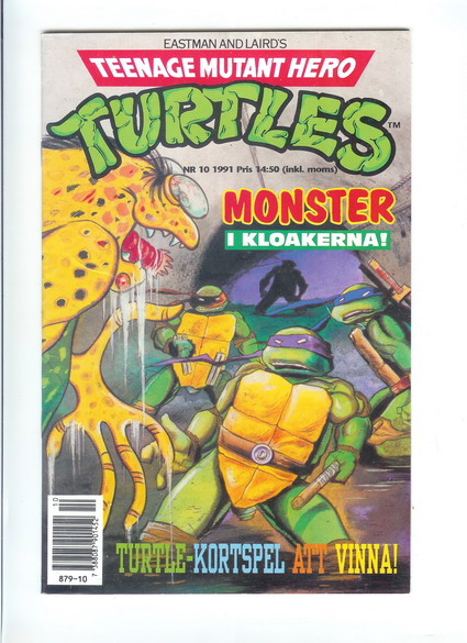 TEENAGE MUTANT HERO TURTLES 1991:10