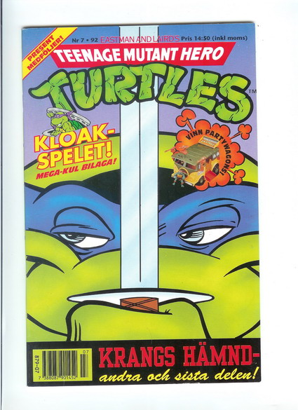 TEENAGE MUTANT HERO TURTLES 1992:7