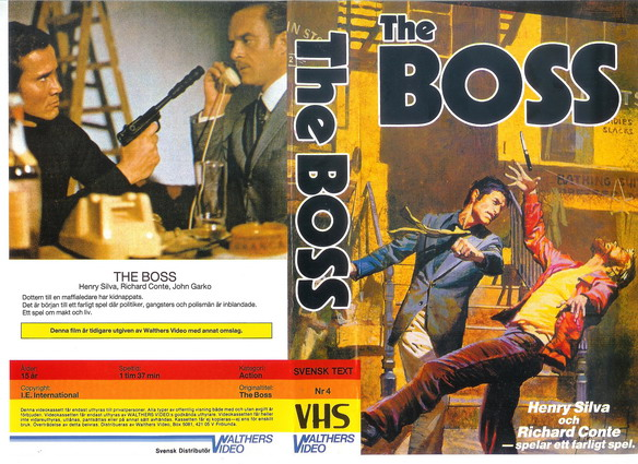 04 HÖGT SPEL aka THE BOSS (VHS)