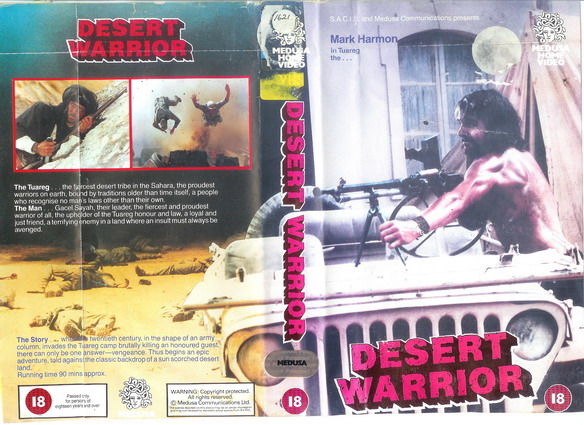 DESERT WARRIOR - UK (VHS)
