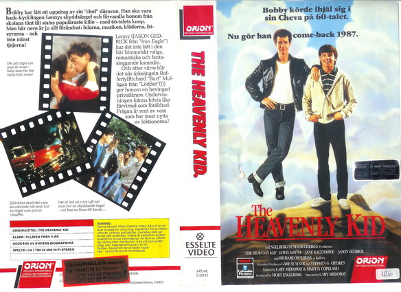 HEAVENLY KID (VHS)