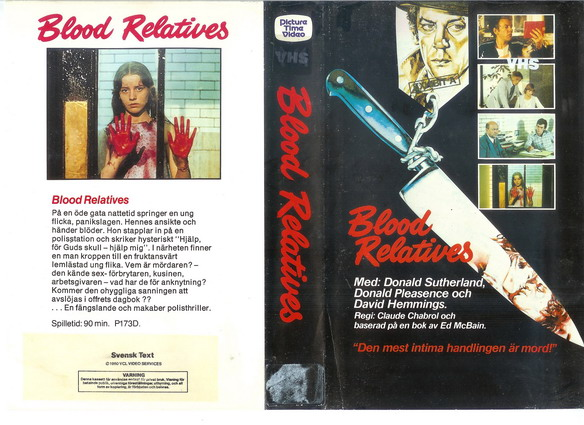 173 BLOOD RELATIVES (VHS)