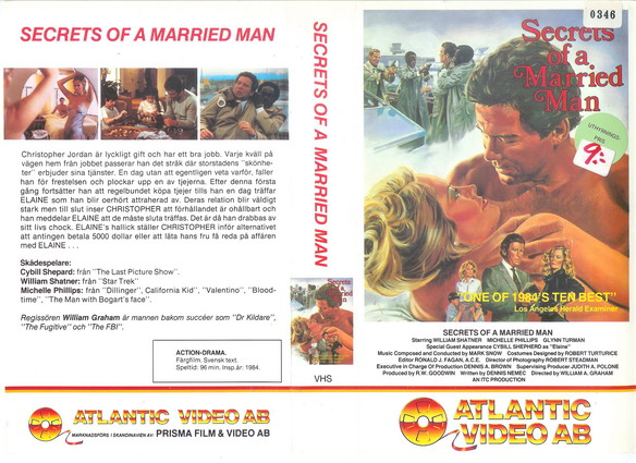 SECRETS OF A MARIED MAN (VHS)