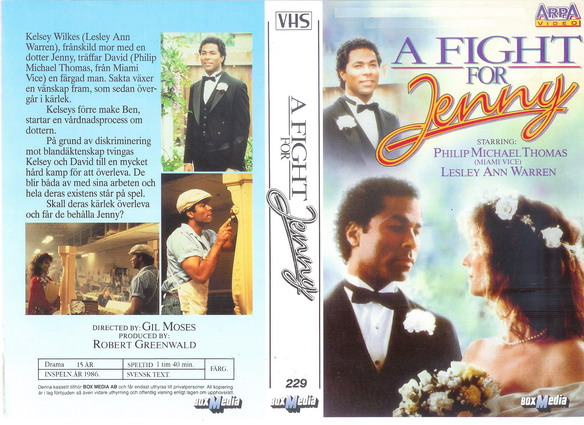 229 A FIGHT FOR JENNY (VHS)