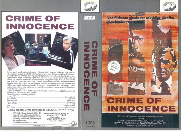 CRIME OF INNOCENCE