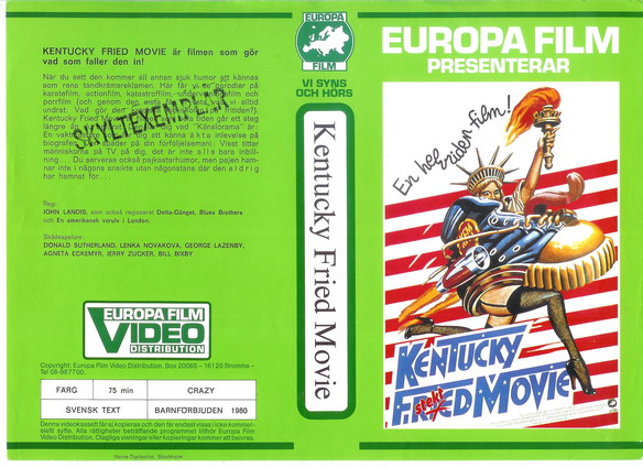 KENTUCKY FRIED MOVIE (VHS)