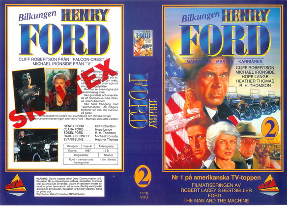 1118 HENRY FORD 2 (vhs)
