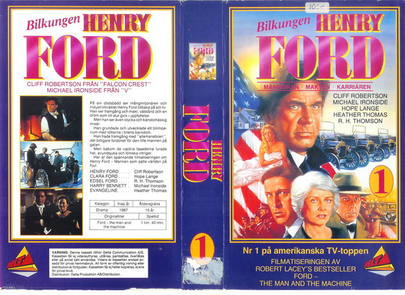 1118 HENRY FORD 1 (vhs)