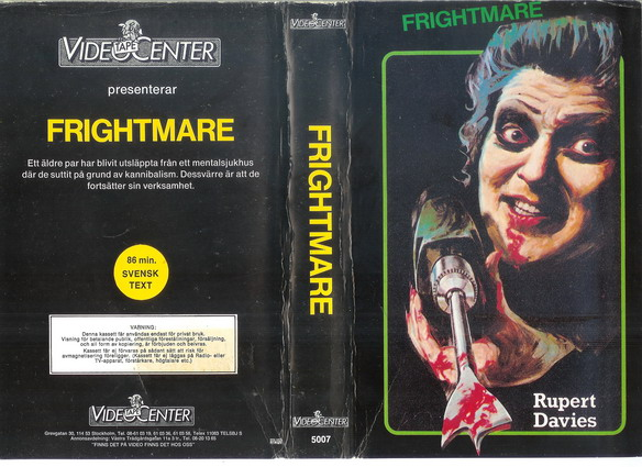 5007 FRIGHTMARE (VHS)