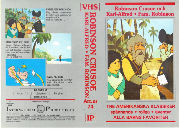 74 Robinson Crusoe.MM  (VHS)