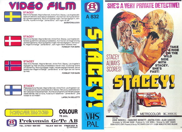 A832 Stacey! (VHS)
