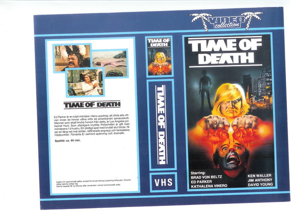 TIME OF DEATH (vhs)