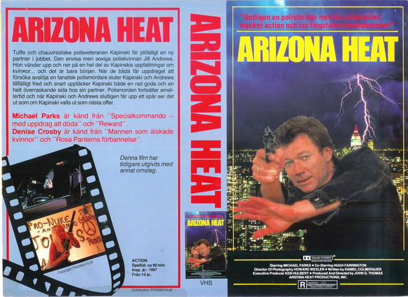 ARIZONA HEAT (VHS)