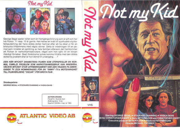 NOT MY KID (VHS)