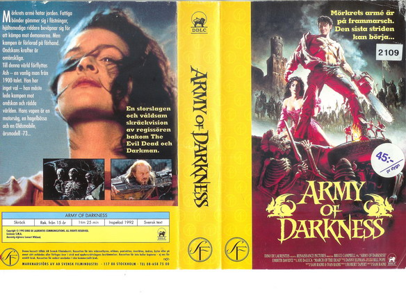 ARMY OF DARKNESS (VHS)