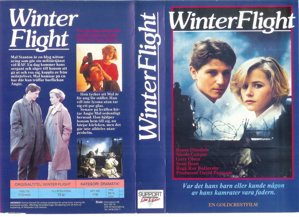 114 WINTER FLIGHT (VHS)