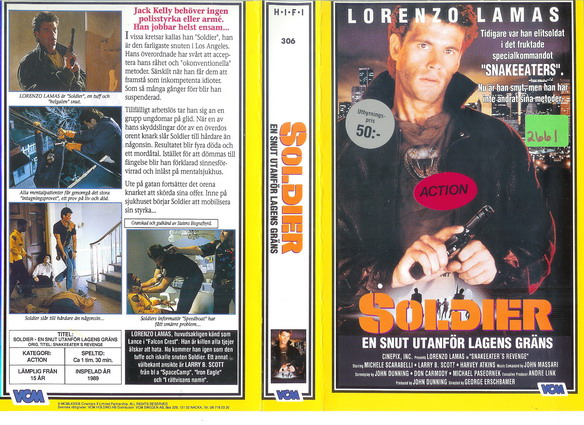 306 Soldier (VHS)