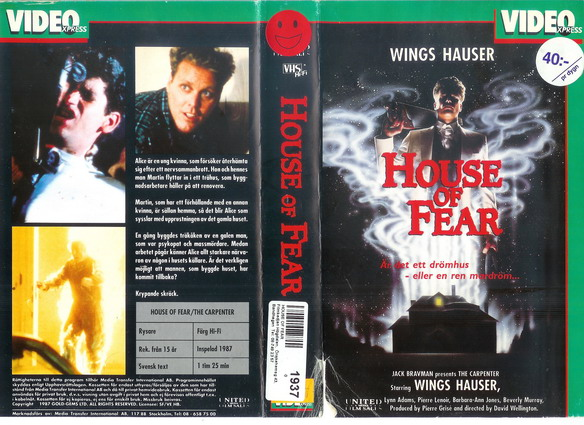 house of fear (VHS)