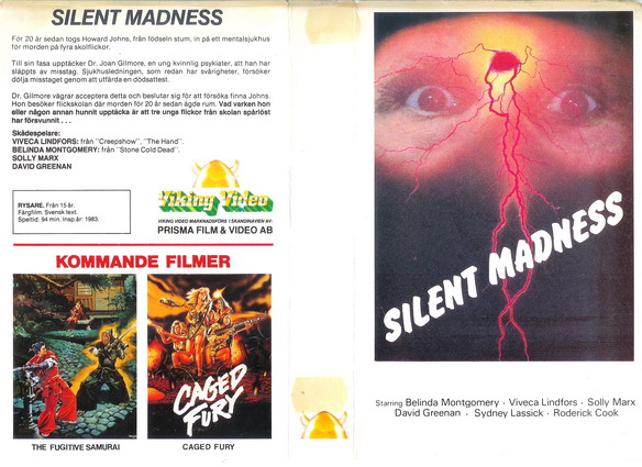 SILENT MADNESS (Video 2000)