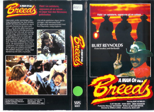 9001 A MAN OF ALL BREEDS (VHS)