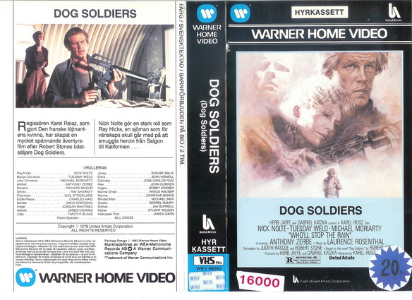 DOG SOLDIERS (VHS)