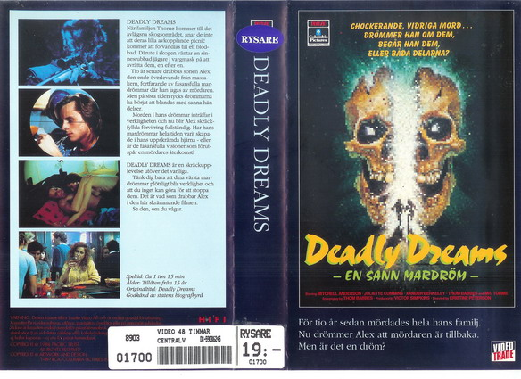 25193 DEADLY DREAMS (VHS)