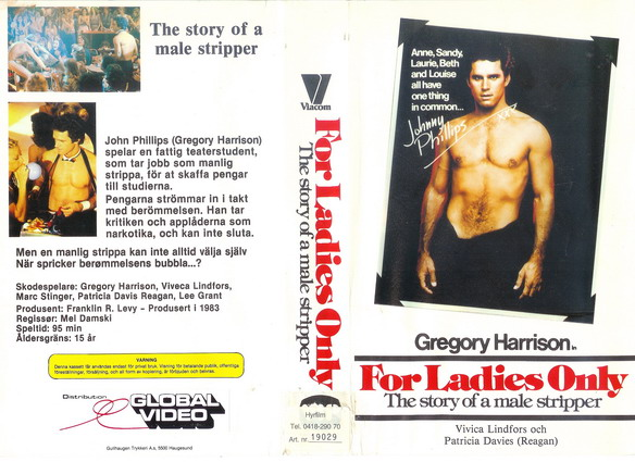 FOR LADIES ONLY (vhs)