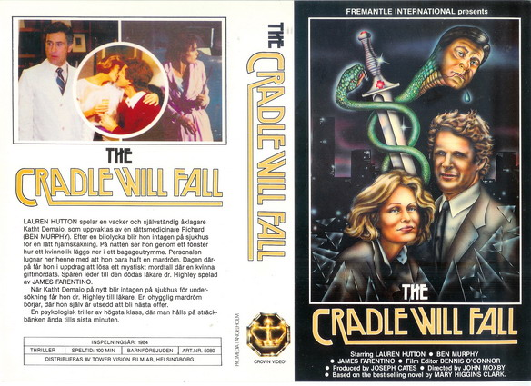 5080 CRADLE WILL FALL (VHS)