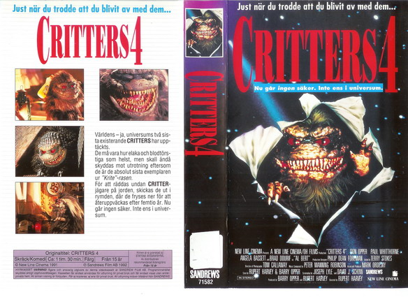 CRITTERS 4 (VHS)