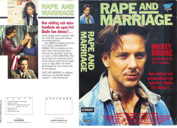 RAPE AND MARRIAGE (vhs)