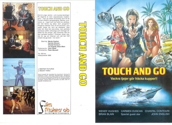 TOUCH AND GO (VHS)