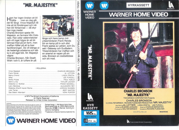 MR.MAJESTYK (VHS)