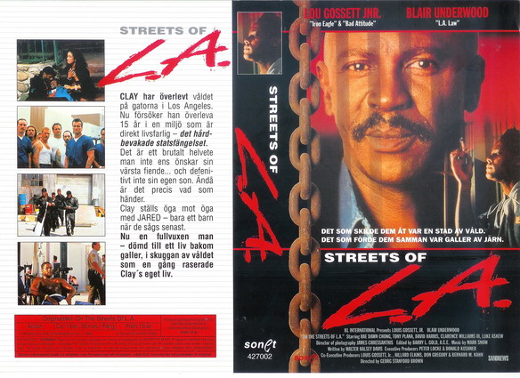STREETS OF L.A. (VHS)