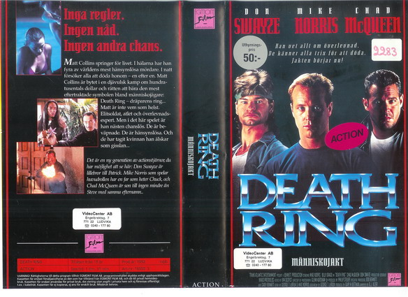 DEATH RING (VHS)