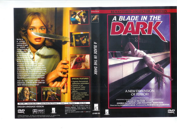 A BLADE IN THE DARK (DVD)